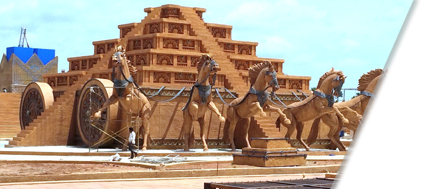 Bahubali Set Tour